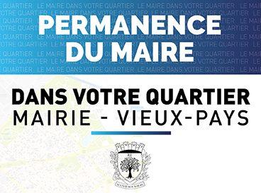 Permanence du Maire au Vieux-Pays